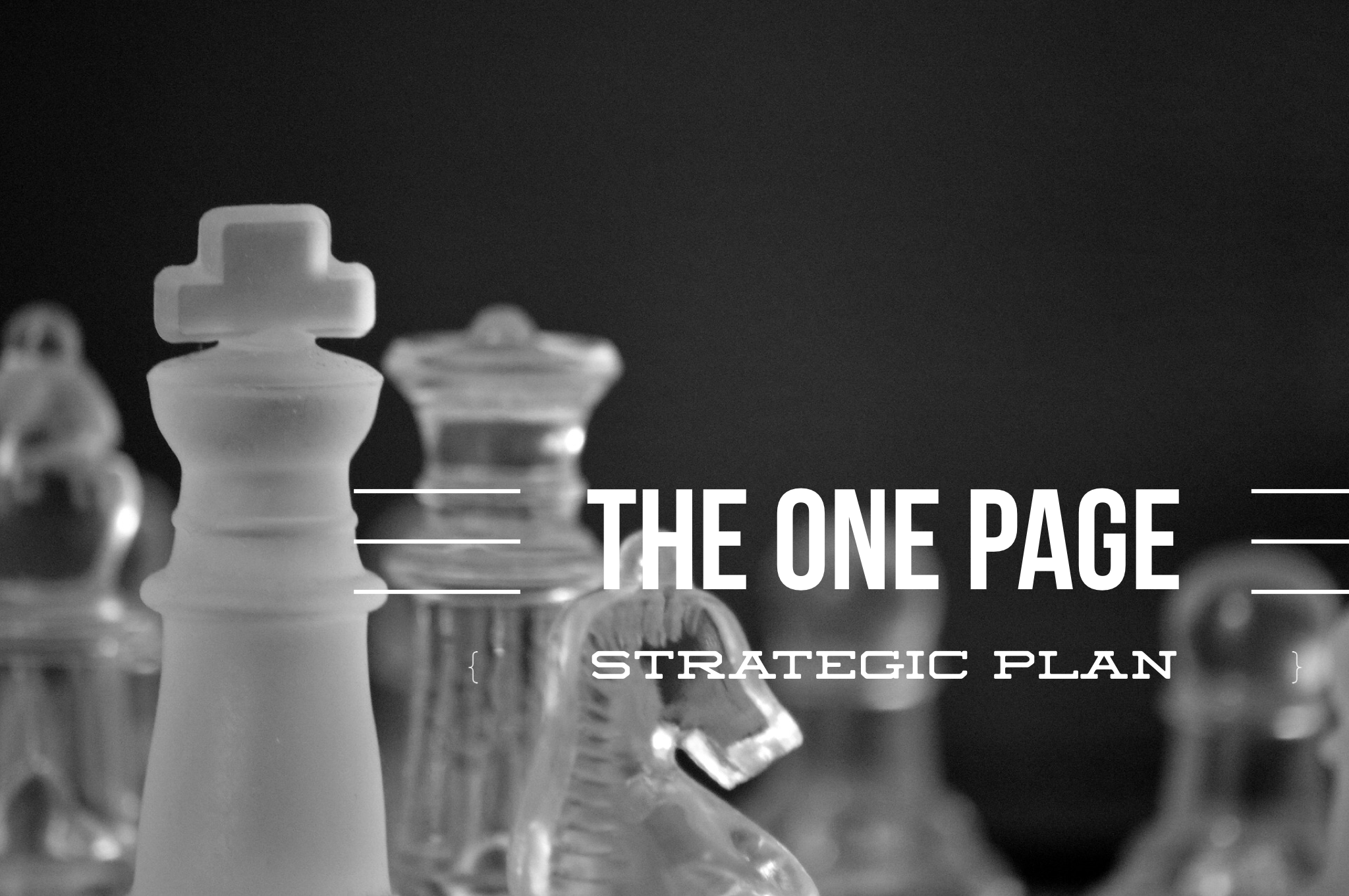 Get Your Free Worksheet And Template For The One Page Strategic Plan