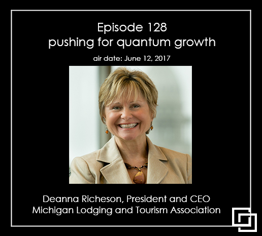 Episode 128 – Deanna Richeson – pushing for quantum growth