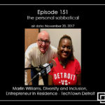 Episode 151 – Marlin Williams – the personal sabbatical