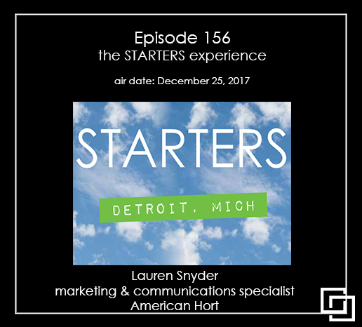 The STARTERS Experience - Detroit Michigan