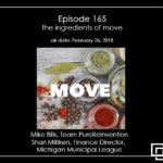 Episode 165 – the ingredients of move