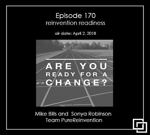 Reinvention readiness